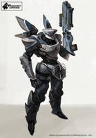 combat robot by AlexPascenko