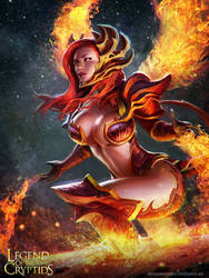 flaming fusion ravaa 02 by AlexPascenko