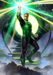 Green Lantern by AlexPascenko