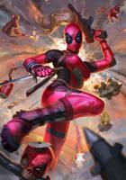 Lady Deadpool by AlexPascenko