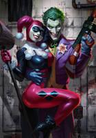 Joker Harley by AlexPascenko