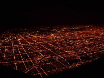 chicago nightlight by renfrowasd