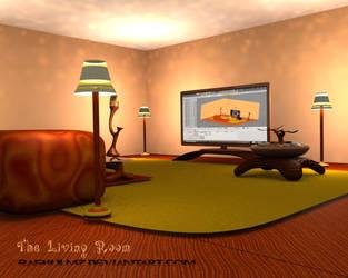 Living room by raghulmz