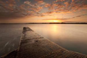 Beadnell Harbour by jamesholephoto