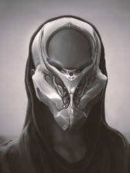 Mech Helmet by synthesys