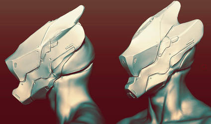 Helmet Sketch by synthesys
