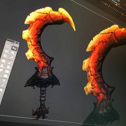 Furious Blade - Wip by synthesys