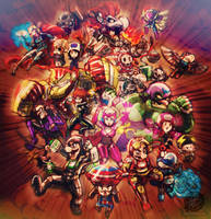 The Mario Avengers 2 - Age of Dry Bowser (WIP) by Jay-Phenrix