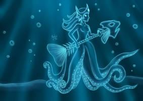 Nami the ghost kraken by Machus-san