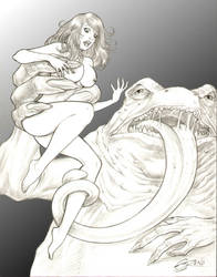 Frogman 1 by steveoreno