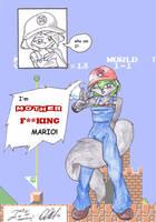Sexy Rocker Mario by CelixDog04