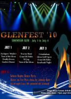 Glenfest 2010 Poster by CelixDog04