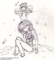 The Angel Inside Her by CelixDog04