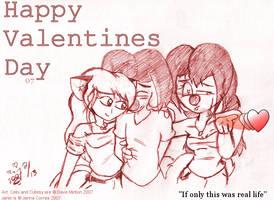 Happy Valentines Day 2007 by CelixDog04