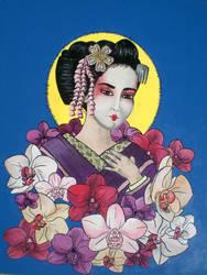 geisha by adeltron