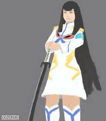 Satsuki Kiryuin by xinazex