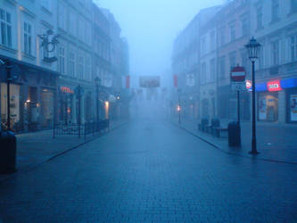 Fog in old city by Sharka-Larim