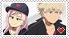 Katsuki Bakugou x Yukari Kouseki Support Stamp by mokiiro