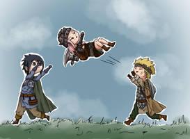 Toss the dwarf by Knibblef