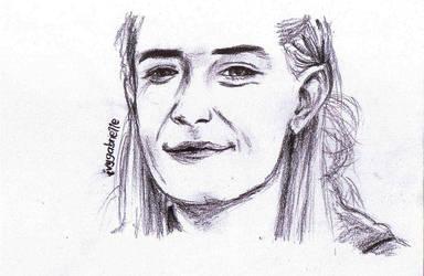 Legolas smiles by drakes999