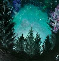 Late at Night by lyraViola