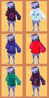 hyper light sweater x 10 by NightMargin