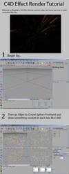 C4D Effect Render Tutorial by phoenixdesigns