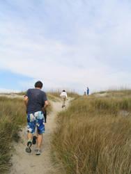 to the beach by kneesocks