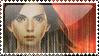 Katniss Everdeen Stamp by Dancerwind