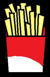 French Fries by StrawberryHoboCake