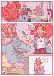 Belle en Rose, Page 2 by MissAnnaMatronic