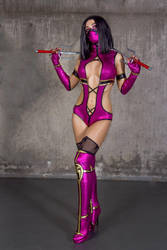 Mileena cosplay by me by AngeliqueDeSange