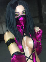 Mileena cosplay  by AngeliqueDeSange
