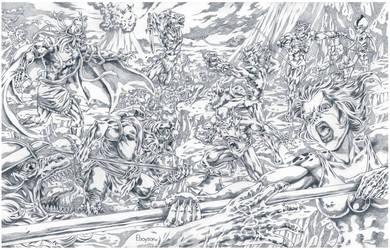 Thundercats...Cornered!!! by Ebayson