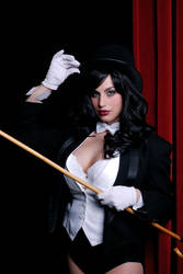 Hat and Cane by Meagan-Marie