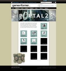 Portal 2 Hub Design by Meagan-Marie