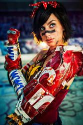 Atomic Wonder Woman by Meagan-Marie