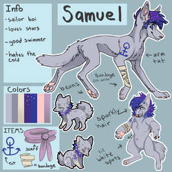 Samuel reference by Mayzie11