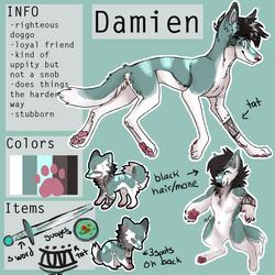 Damien Ref by Mayzie11