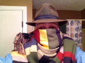 Doctor who scarv for winter by misstresshero