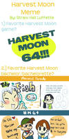 Harvest Moon Meme Attack by Angerfish