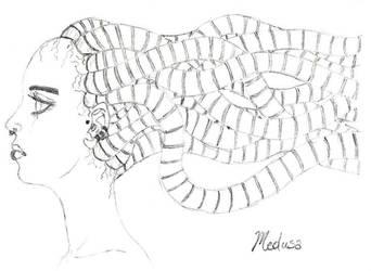 Medusa by LassieTheArtist