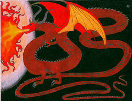 Inferno Dragon by NovaStarr