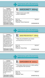 Prescription Labels by Arkham-Insanity