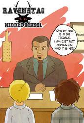 Ravenstag Middle School by Arkham-Insanity
