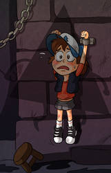 Dipper in the Dungeon by Arkham-Insanity