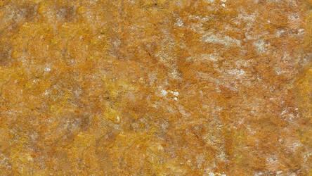 Orange Mossy Rock (Seamless Texture) by Galato901