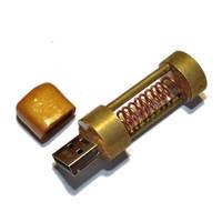 Steampunk USB flash LXXVII by TimeMachinery