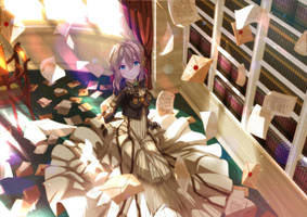 Violet Evergarden by sydusarts