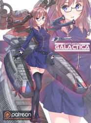 Galactica Chan by sydusarts